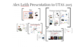 Alex Leith Presentation to UTAS 2015