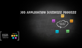 Job Application Business Process