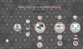 Copy of PRINCIPIOS DE LA ADMINISTRACION
