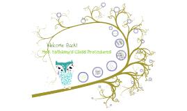 Copy of Class Procedures