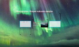 Hurtigruten- Norges vakreste sjøreise