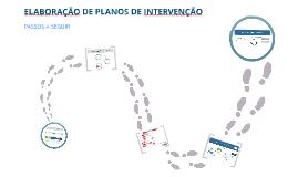 Elaboração de planos de intervenção
