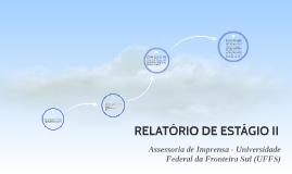 RELATÓRIO DE ESTÁGIO II
