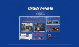 Fenomen e-sportu