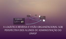 A LOGÍSTICA REVERSA E VISÃO ORGANIZACIONAL SOB PERSPECTIVA D
