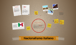 Copy of Nacionalismo italiano