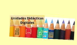 Copy of Diseño de Unidades Didácticas Digitales