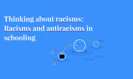 Thinking about racisms: Racisms and antiracisms in schooling