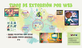 TIPOS DE EXTORSION POR WEB