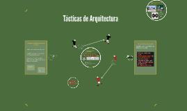 Tacticas de Arquitectura