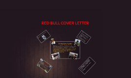 Shawn weller on prezi for Red bull cover letter examples