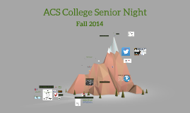 ACS College Senior Night - UCAS