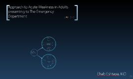 Approach to Acute Weakness