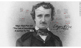 """The Cask of Amontillado"" - From the Poe Files"