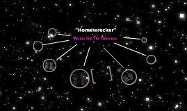 Homewrecker por Amanda Akemi