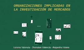 Copy of ORGANIZACIONES IMPLICADAS EN LA INVESTIGACIÓN DE MERCADOS