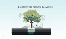 EVOLUCIÓN DEL DERECHO ECOLÓGICO