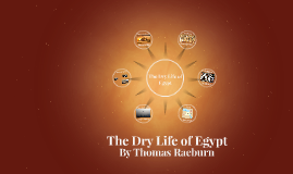 The Dry Life of Egypt