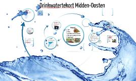 Copy of Drinkwatertekort in het Midden-Oosten