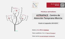 ASTRAPACE , Centro de Atención Temprana Murcia