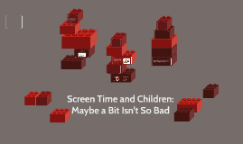 Screen Time and Children: Maybe a Bit Isn't So Bad