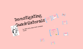 Copy of Quadrilaterals
