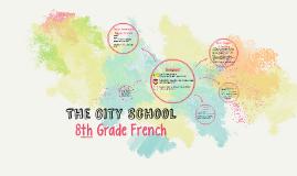 8th Grade French 2016
