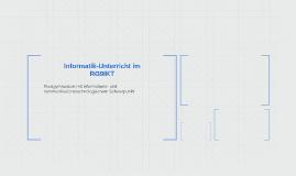 Informatik-Unterricht im