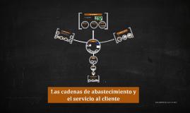 Las cadenas de abastecimiento y el servicio al cliente