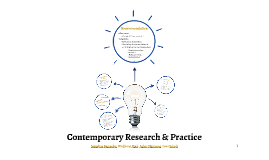 Contemporary Research & Practice