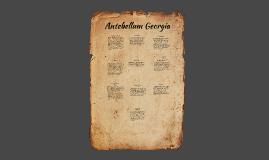 Antebellum Georgia