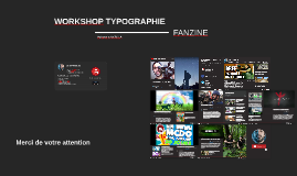 WORKSHOP TYPOGRAPHIE