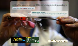 NOTS Talk on mHealth Innovation