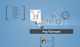 Ang Talumpati