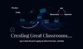 Creating Great Classrooms....