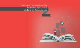 18 Puntos Doctrinales de la