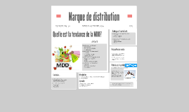 Copy of La marque de distribution