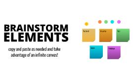 Free Brainstorming Elements by Uli Weinberg