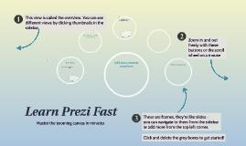 Learn Prezi Fast