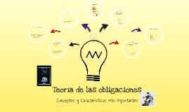 Copy of Teoría de las obligaciones.