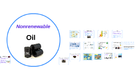 Nonrenewable: Oil