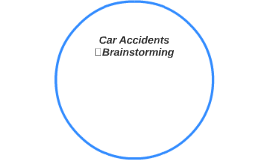 Car Accidents Brainstorming