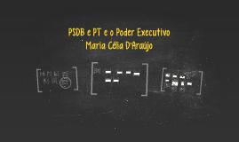 PSDB e PT e o Poder Executivo