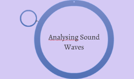 1.6 Analysing Sound Wave