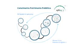 Catania_Censimento Patrimonio PA