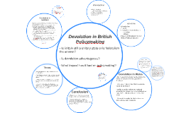 Devolution in British Policymaking
