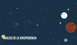 ANALISIS DE LA JURISPRUDENCIA