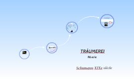 Traümerei ou Rêverie de Schumann. Présentation à l'usage des 6es. On y voit les notions de courbes mélodiques, de mélodie, de phrase, de thème et finalement, de structure d'un morceau.