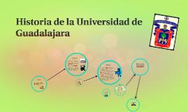 Historia de la Universidad de Guadalajara
