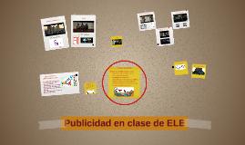 Publicidad en clase de ELE